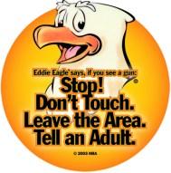 NRA's Eddie Eagle logo