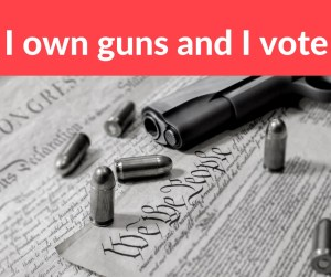 Get out and get the Gun Vote done today! Share this post if you are a gun owner and vote!