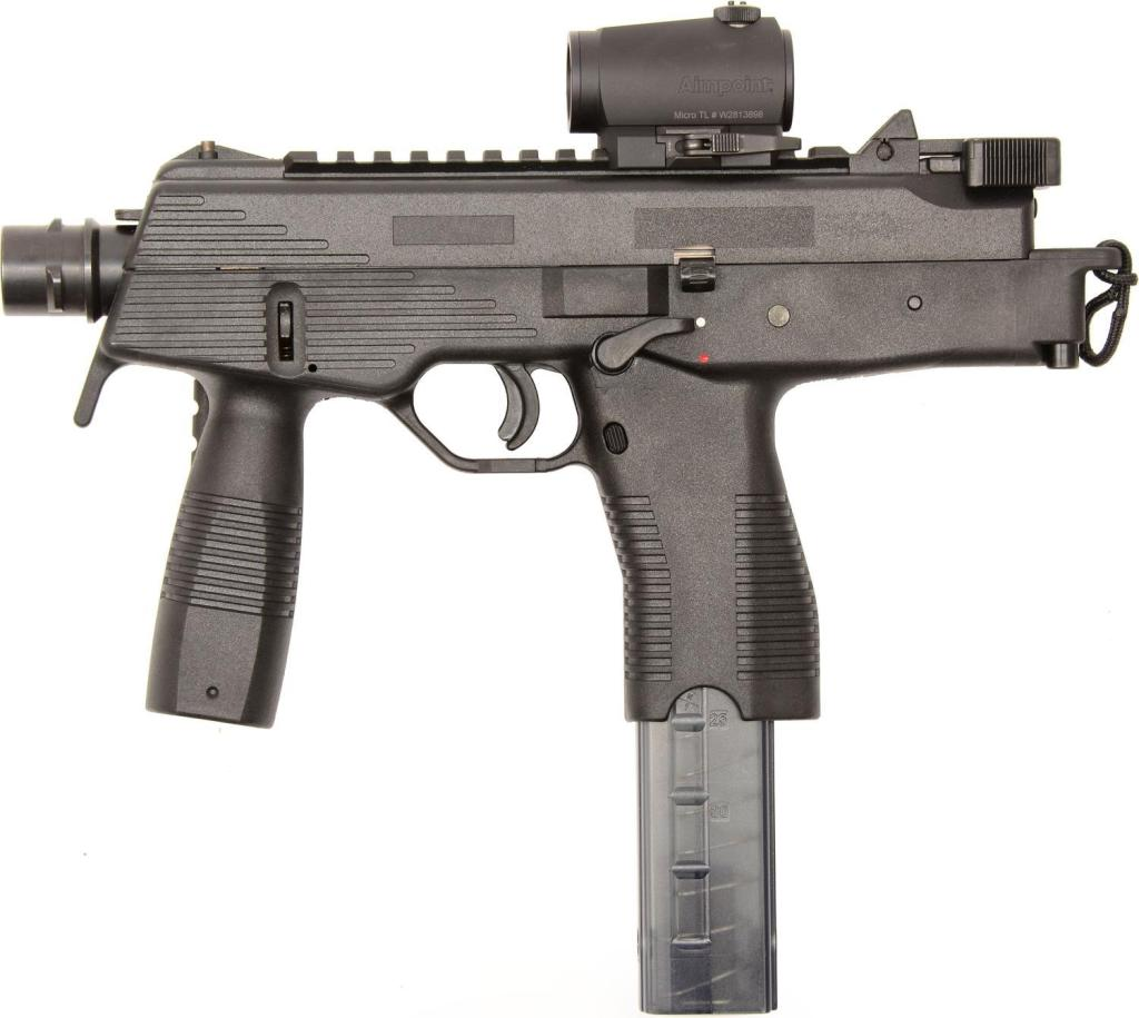 Owners of the B&T TP9 usually get a tax stamp to turn it into an SBR.