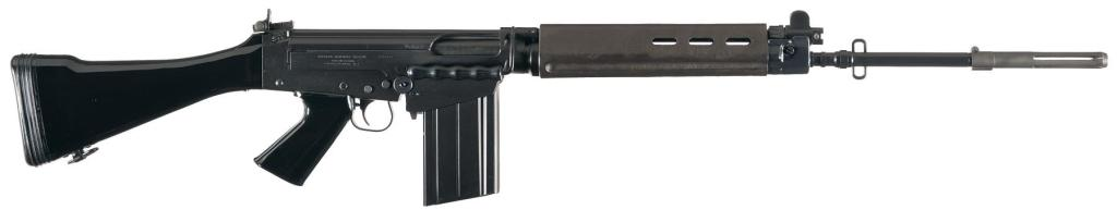 A pre-ban FN FAL sold by Rock Island Auction.