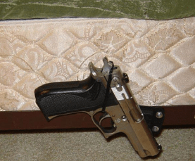 7 Ways To Hide A Gun In Your Bedroom With A Gun Magnet