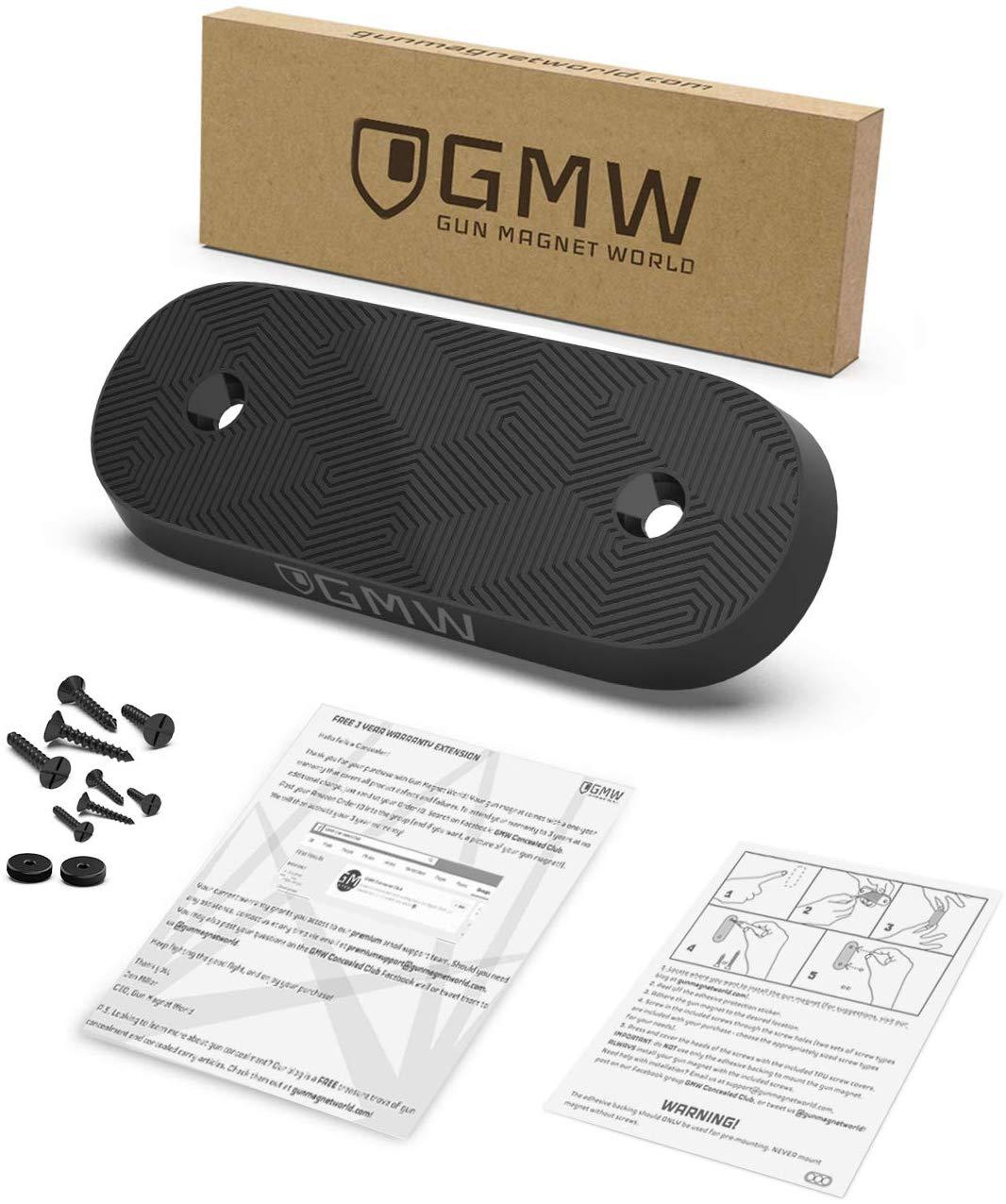 GMW Magnetic Gun Mount, War Door II Series [6 Pack] | 75 ...