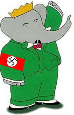nazi babar