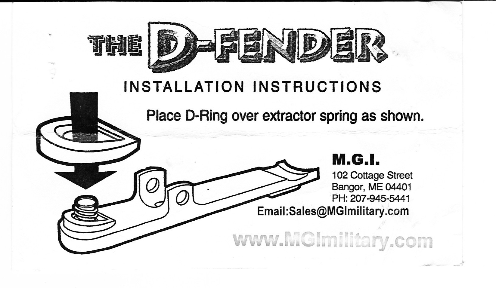 Mgi Military Ar15 Buffer Recoil Reducer