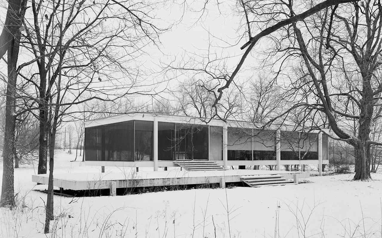 Ludwig Mies van der Rohe  Farnsworth House  Gunner Architect