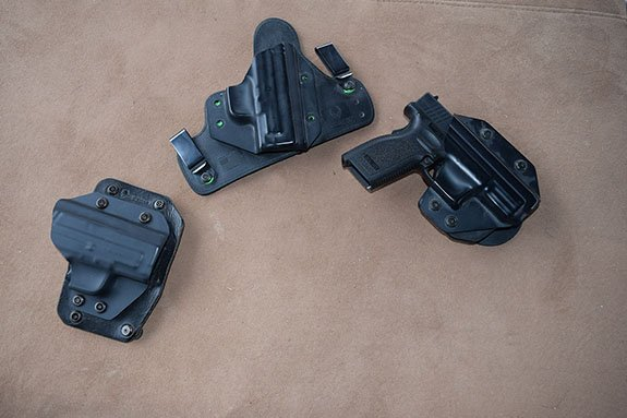 3 of Alien Gear's Holsters