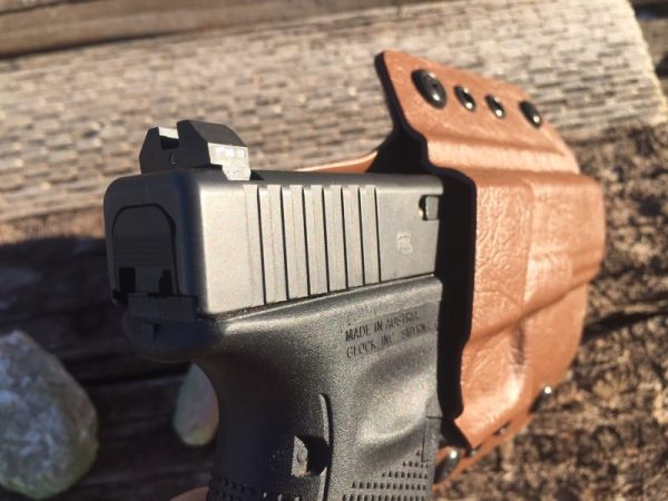 holstered glock 19