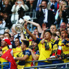 Arsenal lift the FA Cup