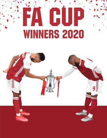 Arsenal Editor FA Cup White
