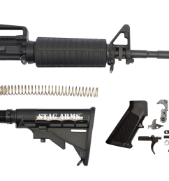 note featureless ar 15 rifles are no longer available from stag arms at this time so you ll have to seek out third party sellers to obtain one  [ 1200 x 717 Pixel ]