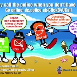 Police Contact Info – Summer 2020
