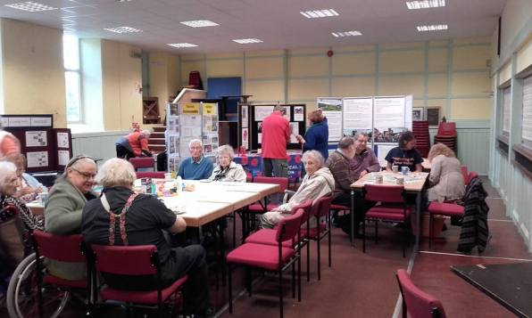 A busy open day and coffee morning attended by local groups.