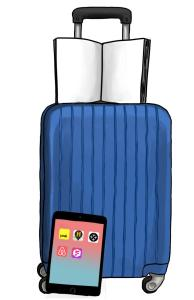 suitcase ipad book copy