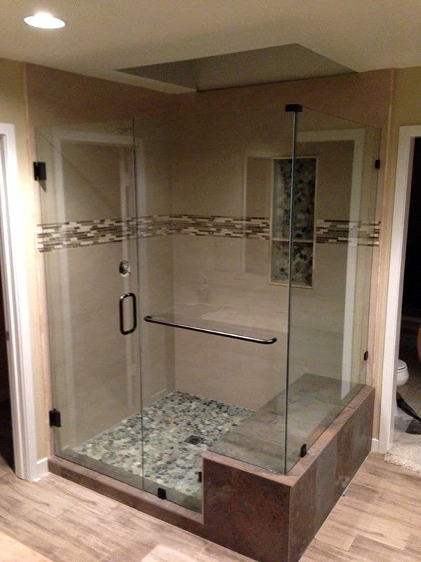 Shower Enclosures  Gunns Quality Glass  Mirror