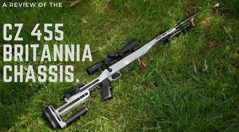 Review _ Britannia CZ 455 Chassis