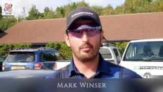 British Open Super Final. Interview with Mark Winser
