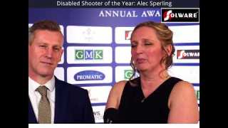 CPSA Awards 2018 – Alec Sperling, Disabled Shooter OTY