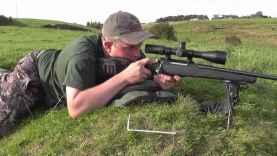 138 Yard Zero Check Shot 243 87 Grain V Max