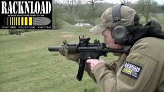 GSG MP5 SD .22 lr (RANGE TIME) Catton Park by RACKNLOAD