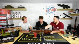 Hot Air … Airgun chat Episode 1. Part 1 of 2 . Bullpup show and tell.