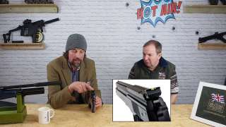 The new BSA R10 blue and the Weihrauch Hw45. Episode 5 Part 3 of 3.