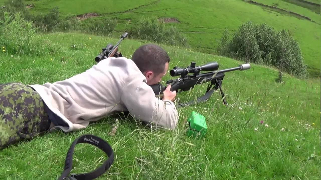 Varminting with Trigger Pull TV: Tikka T3 Varmint  223 and