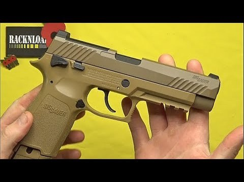 Sig Sauer M17 (C02) FULL REVIEW by RACKNLOAD