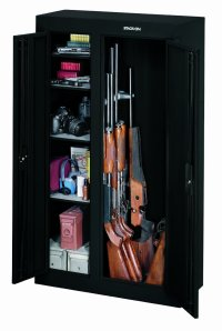 A Marvelous Double Door Gun Cabinet - Gun Safe Company