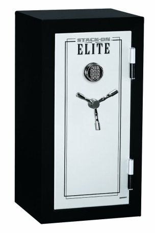 the Stack-On Elite Junior Executive Fire Safe upclose and personal