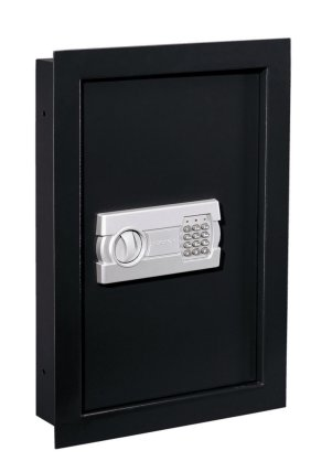 Stack-On Wall Safe with Electronic Lock pictured here. can you see any difference with the other wall safes?