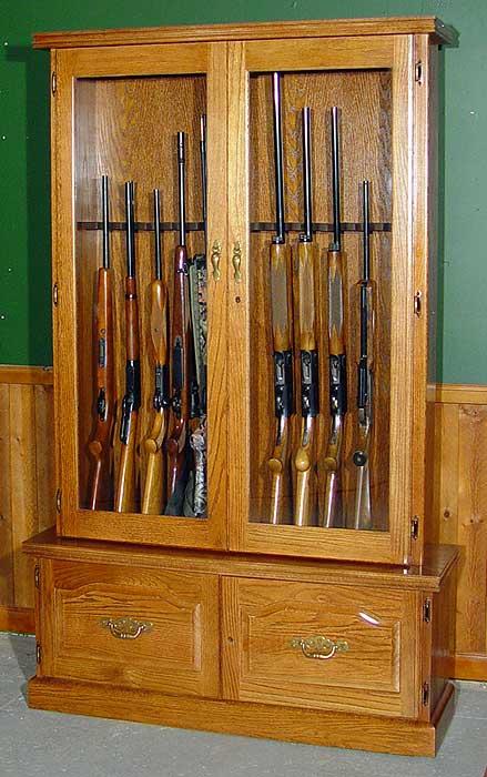 Cheap Gun Cabinet Plans PDF Woodworking