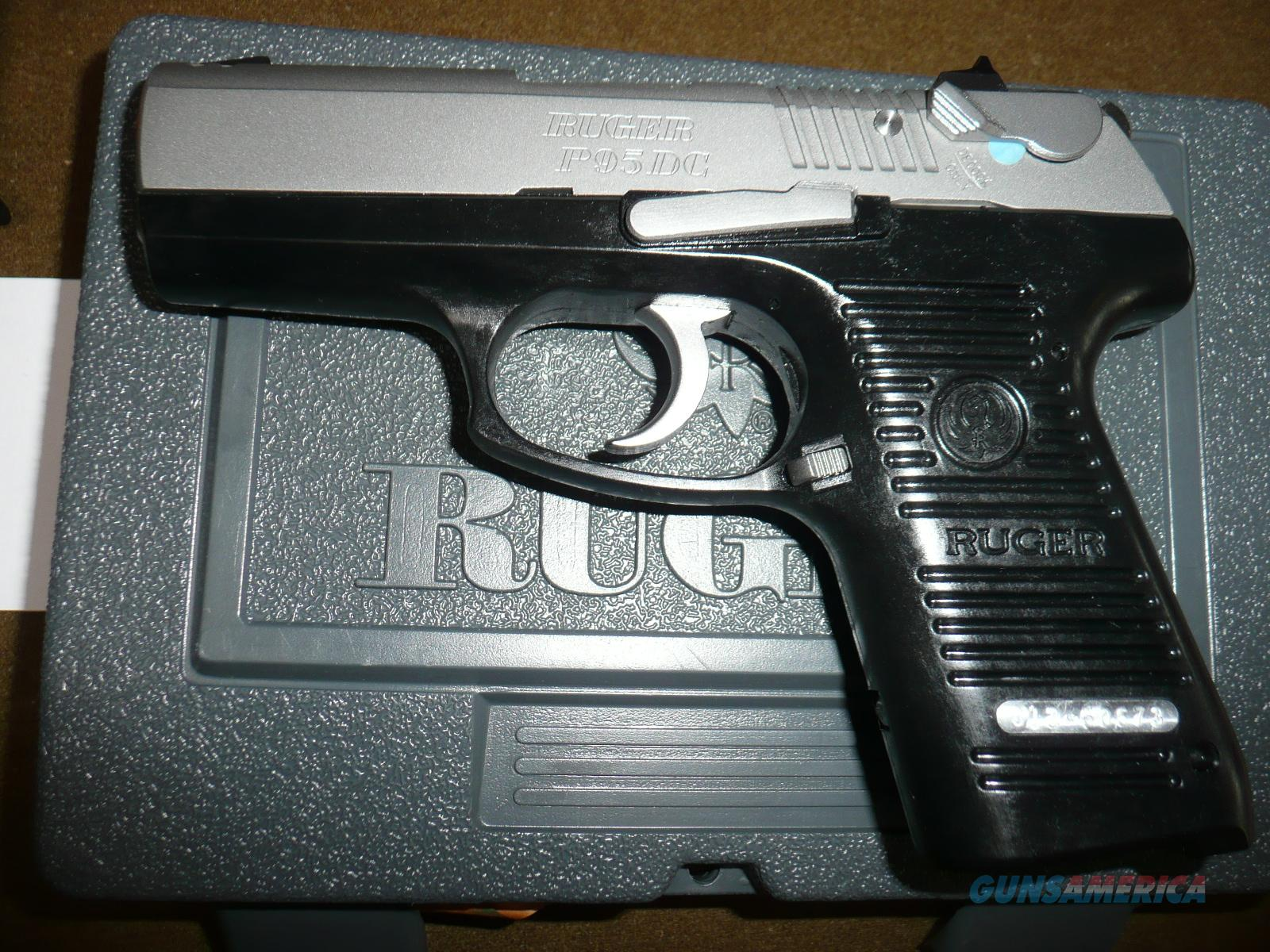 Ruger P95 Dc 9mm Nib Box And All Papers Unfir For Sale