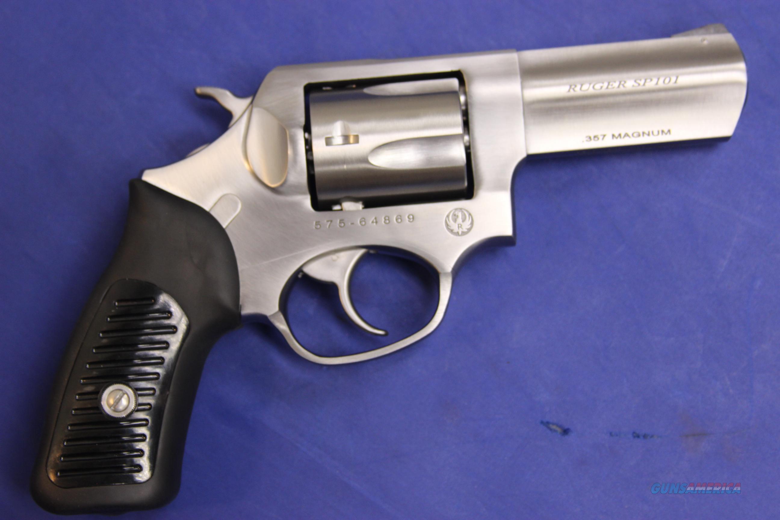 Ruger Sp101 357 Magnum 3 Barrel