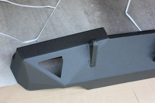 Smittybilt XRC 76851 Rear Bumper Bottom Side 3