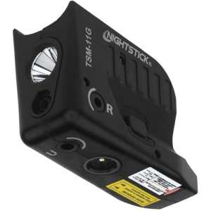 Subcompact Weapon Light with Green Laser for Glock
