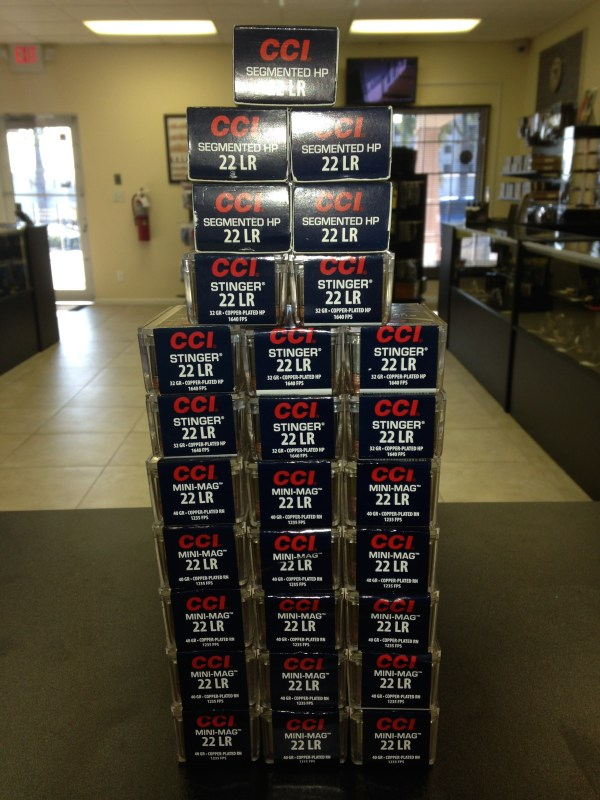 Cci 22lr In Stock - Stingers And Mini-mag 5 23 14