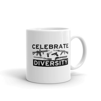 Celebrate Diversity Guns Coffee Mugs