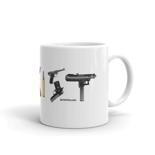 Coexist Guns 11oz. and 15oz. Coffee Mugs
