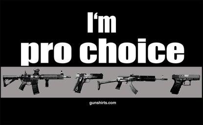 pro choice guns darks design