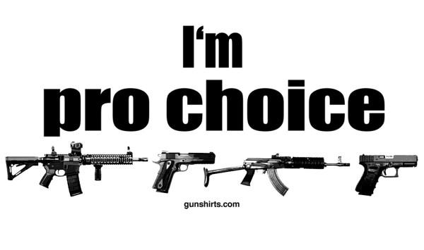 pro choice guns lights design