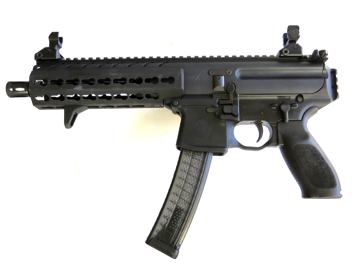 SIG Sauer MPX-PSB — Next Generation Civilian PDW - Guns in the News