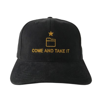 Come And Take It Hat Front