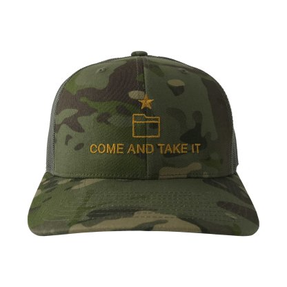 Come And Take It Trucker Hat Front