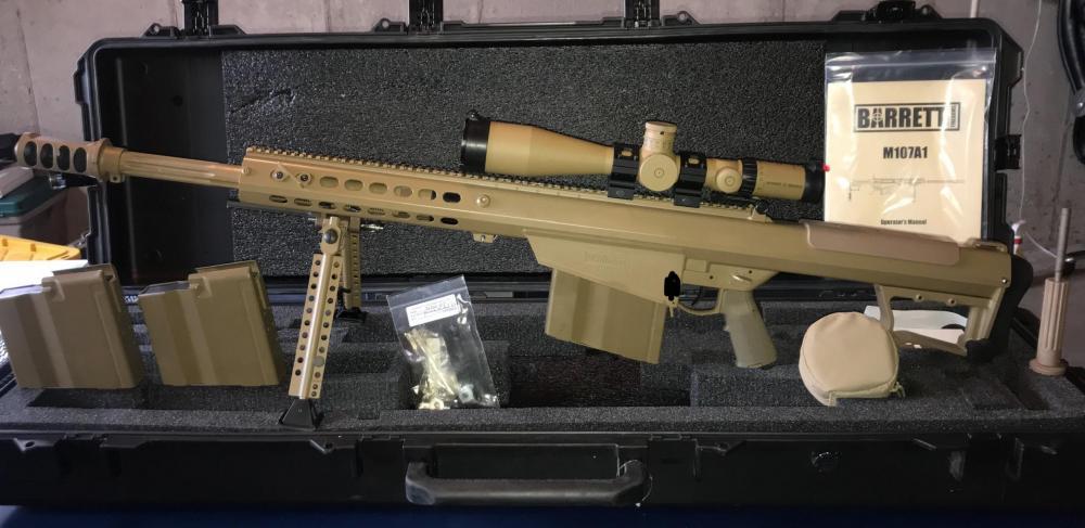GunSpot | Barrett M107A1 CQ FDE