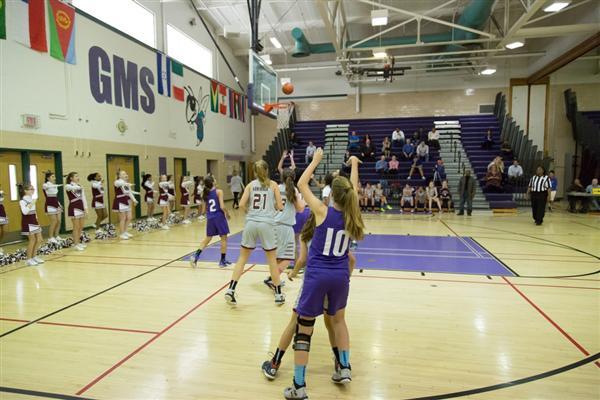 Girls Basketball Gunston