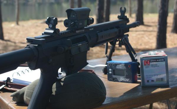 Ruger Sr 762 Review Part 6 Range Test