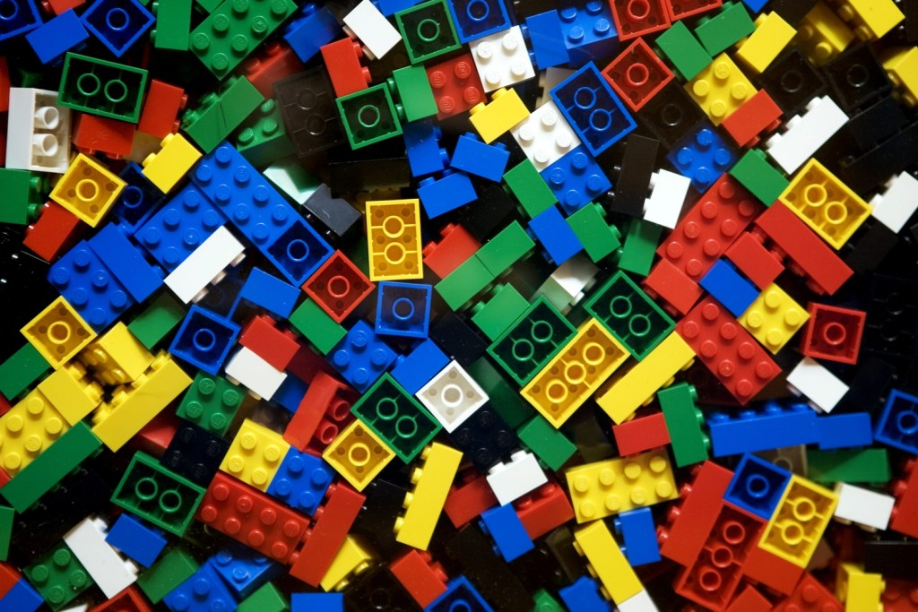 Lego Club meets monthly on Saturday at 10:00 AM