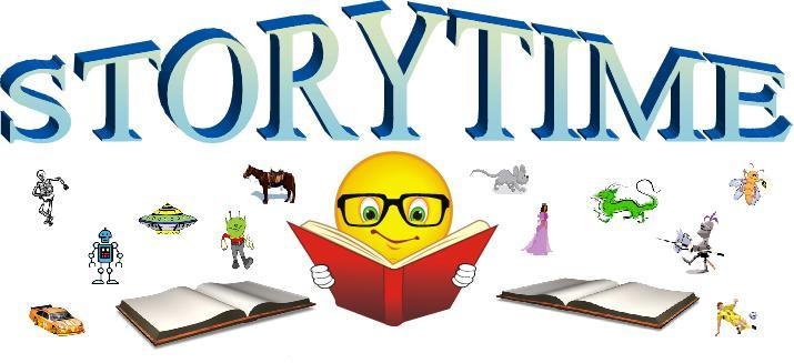 Join us for story time every Wednesday at 10:30 AM