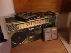 The Clash - Sound System Ghetto Blaster