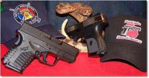 XDs45 with Ruger SR9c